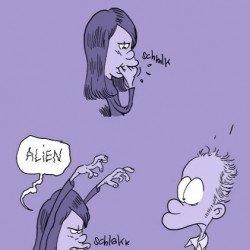 Protégé: Alien et les Femen